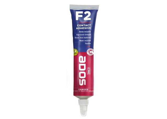 CRC F2 Multi-Purpose Contact Adhesive 75ml Sparesbox - Image 1