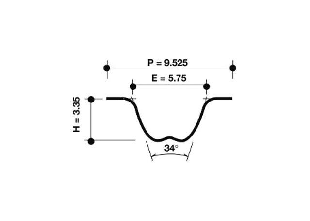 Dayco Timing Belt 941018 Sparesbox - Image 1