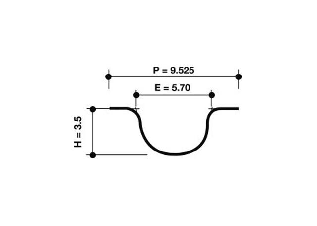 Dayco Timing Belt 941027 Sparesbox - Image 1
