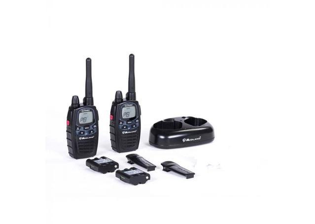 Midland Handheld UHF CB Radio 3W 80CH Twin Pack G7XT Sparesbox - Image 2
