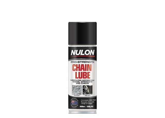 Nulon Pro-Strength Chain Lube Aerosol Spray 400ml Sparesbox - Image 1