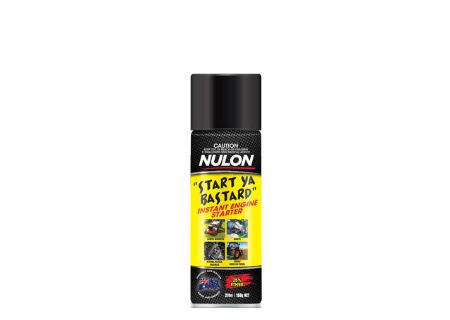 Nulon Start Ya Bastard Instant Engine Starter Aerosol Spray 150g Sparesbox - Image 1