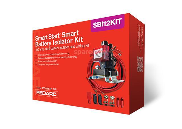 REDARC Battery Isolator 12V 100A Kit SBI12KIT Sparesbox - Image 1
