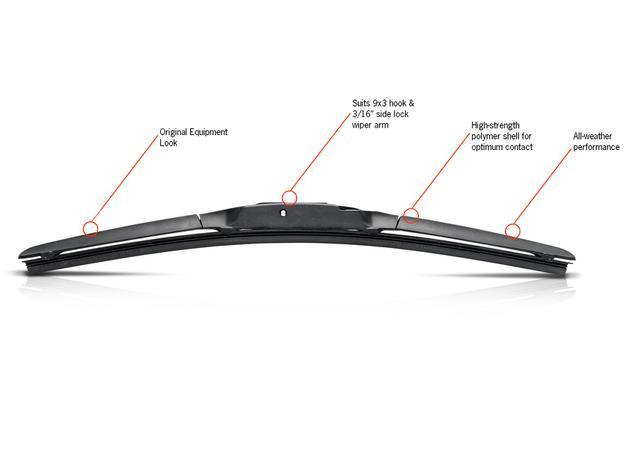 Trico Exact Fit Hybrid Wiper Blade 450mm HF450 Sparesbox - Image 3
